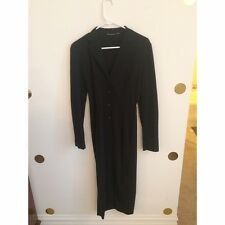 Vintage Dolce & Gabbana Black Sexy Shirt Dress 42