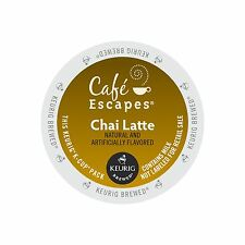Cafe Escapes Chai Latte K-Cups 96Ct