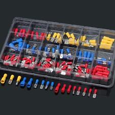 120Pcs Assorted Terminal Crimp Insulated Electrical Wire Connector Spade Set Kit