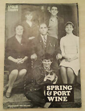 APOLLO THEATRE PROGRAMME: ALFRED MARKS - RUTH DENNING in SPRING & PORT WINE