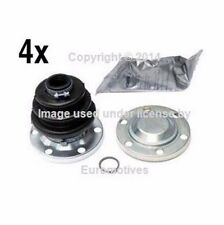 BMW e21 (80-83) OEM Axle Boot Kit Rear IN+OUT (x4) cv Joint Constant Velocity