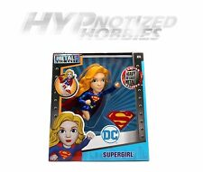 "JADA 6"" DIE-CAST METAL DC GIRLS SUPERGIRL W/ WEAPONS 97923-12"