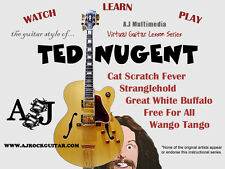 Custom Guitar Lessons, Learn Nugent