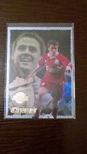 RARE Michael Owen ROOKIE Card - Merlin Premier Gold 99 - Great Condition