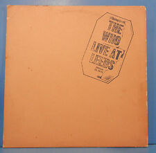 THE WHO LIVE AT LEEDS VINYL LP 1970 ORIGINAL 7 INSERTS PLAYS GREAT! VG+/VG!!B