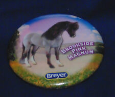 BREYER 2013 HORSE BUTTON PIN - BROOKSIDE PINK MAGNUM - WELSH PONY
