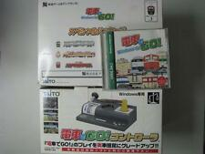 RARE! Densha De Go + USB controller set for windows 95/Me Japan