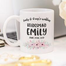 Bridesmaid mug, a custom gift for Bridesmaid
