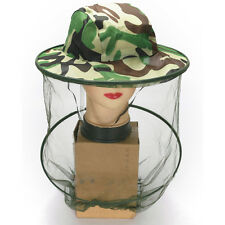 Travel Camping Kits Hats Mosquito Insect Hat Bug Mesh Heads Net Face Protectors@