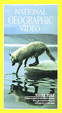 National Geographic White Wolf Documentary VHS Educational Nature