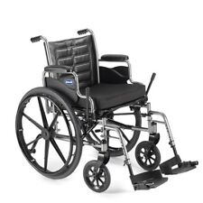 "Invacare Tracer EX2 20x16"" Wheelchair w/ Desk Length Arms & Footrests TREX20RP"