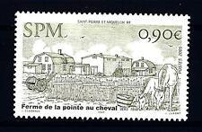 """ST. PIERRE E MIQUELON - 2005 - Architettura rurale - Fattoria """"Pointe au Cheval"""""""