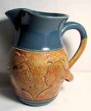Winton-Rosa Eugene Cowpens, SC Art Pottery 5 FACES PITCHER African American