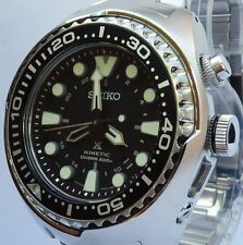 SEIKO PROSPEX BRAND NEW MEN'S KINETIC GMT 200m DIVERS WATCH. SUN019P1