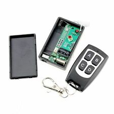 4 Channel RF Wireless Remote Control + Vibration 433MHz