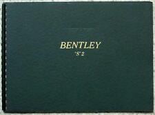 BENTLEY S2 SERIES & With DIVISON Car LF Sales Brochure c1957