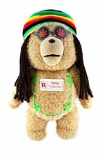"OFFICIAL NEW 16"" TED 2 RASTA MOVING EXPLICIT TALKING PLUSH BEAR R-RATED"