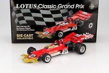 E. Fittipaldi Lotus Typ 72C #24 Winner USA GP Formel 1 1970 1:18 Quartzo