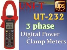 Power Factor Clamp Meter 3 Phase UT232 True RMS Value