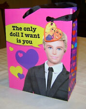 2010 Barbie and Ken Doll Anniversary Valentine Gift Bag Target Special Mattel