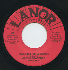 Hear - Rare Cajun Country 45 - Gervis Stanford- Make The Girls Dance- Lanor - M-