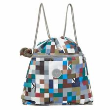 NWT Kipling Supertaboo Printed Drawstring Backpack