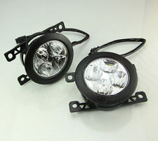 DRL Daytime Running Lights Round DayLight CREE HQV15 Fog Lamp Upgrade Retrofit A