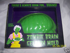 Zombie Brain Mold Halloween Prop Jello Party Body Parts NEW