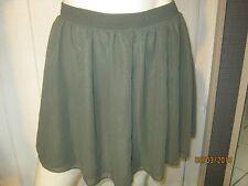 american apparel chiffon skirt m/l