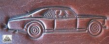Race Car Muscle Car Drag Racing Embossing Plate Leather Stamp #3