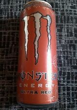1 Volle Energy Drink Dose 500ml Monster Ultra Red Holland Full Can Coca Cola