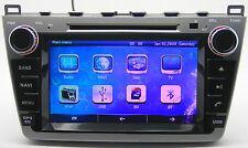 "8"" Touch Screen Stereo Car Radio DVD Player GPS Navigation For Mazda 6 2008-2012"