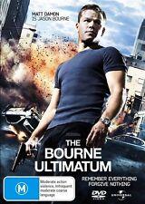 The Bourne Ultimatum (DVD, 2007) New DVD Region 4 Sealed