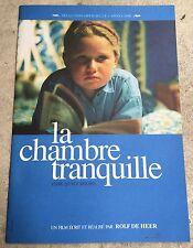 Dossier de Presse LA CHAMBRE TRANQUILLE Quiet Room ROLD DE HEER*b