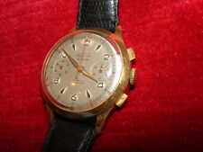 MONTRE CHRONOMETRE  CHRONOGRAPHE JUPITER  PLAQUE OR 1940