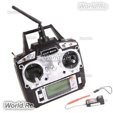 FLYSKY RC FS-T6 2.4ghz AFHDS Mode 2 6ch Transmitter + Receiver helicopter plane