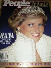 PEOPLE TRIBUTE MAGAZINE FALL 1997 DIANA PRINCESS  WALES HER LIFE STYLE MEMORIES