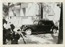 PHOTO ANCIENNE - VINTAGE SNAPSHOT - VOITURE AUTOMOBILE CITROËN TRACTION-CAR 1953