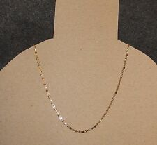 10K THREE TONE, YELLOW GOLD WHITE GOLD ROSE GOLD NECKLACE 3MM