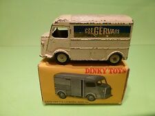 DINKY TOYS 25C 25CG CITROEN 1200 KG - GERVAIS - GOOD CONDITION IN BOX