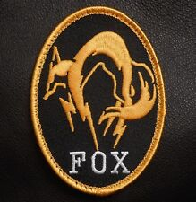 METAL GEAR SOLID FOX HOUND LOGO BADGE PS4 COSPLAY BLACK OPS HI VIZ VELCRO PATCH