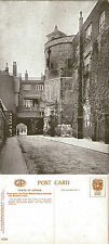 1930's TOWER OF LONDON TOWARDS BYWARD TOWER LONDON POSTCARD