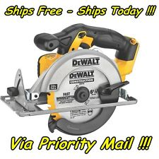 "DeWalt DCS393 20V 20 Volt Max Lithium Ion Cordless 6 1/2"" Circular Saw Li-Ion"