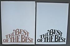 THE BEST OF THE BEST 1985 AIDS BENEFIT THEATER PROGRAM W/ LETTER OF APPRECIATION