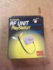 MAD CATZ Automatic TV AV RF Unit Switch for Sony PSX Playstation Camcorder