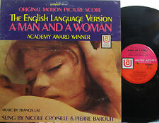 A Man and a Woman (Soundtrack) U.A. 5184 (Francis Lai) Nicole Croisille & Barouh