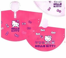 Hello Kitty Poncho Style Rain Coat in Pink