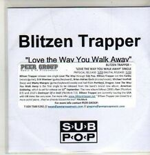 (CS837) Blitzen Trapper, Love The Way You Walk Away - DJ CD