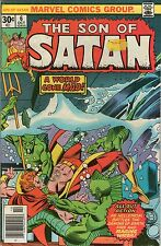 SON OF SATAN # 6 - HOUSE OF ELEMENTS ( SCARCE - 1976 )