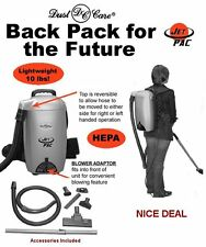 JetPac Lightweight BackPack Vacuum w/ 20  Bags